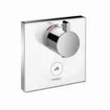 HANSGROHE ShowerSelect Glass. Bateria termostatyczna HighFlow do 1 odbiornika, z 1 dodatkowym wyjściem