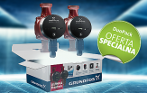 Grundfos DUO PACK pompa do C.O. ALPHA 2L 25-60