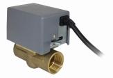 SALUS PMV21/PMV24 Zawór dwudrogowy 1''/3/4'' z napędem elektrycznym i wyłącznikiem krańcowym